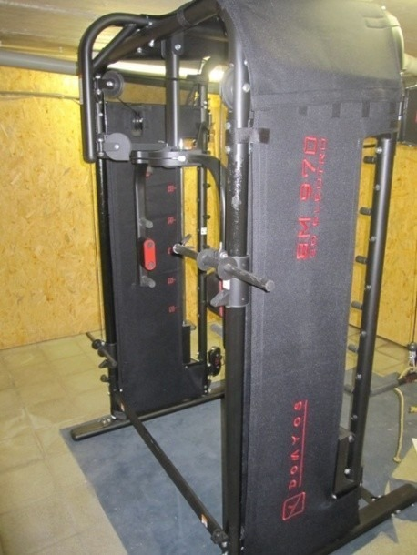 Verkocht - Multifunctioneel fitnesstoestel Domyos BM970 3d elektro | Bodybuilding.nl Forum