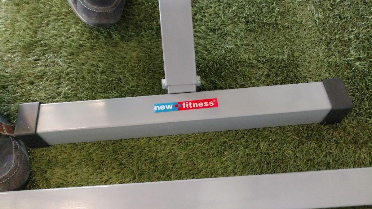Verkocht newfitness power cage bank te koop bodybuilding