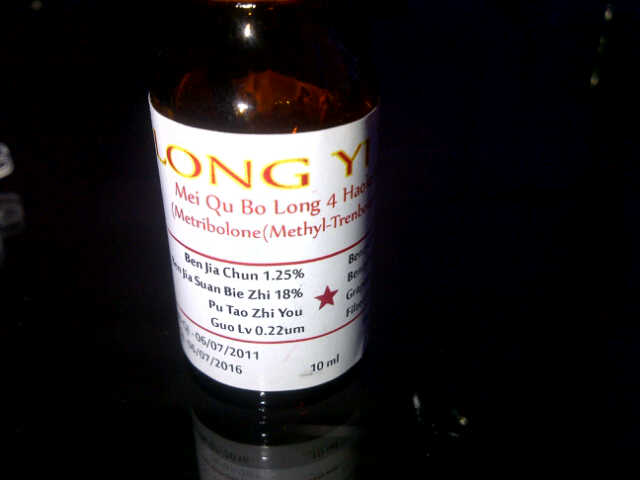 methyl tren injectable dosage
